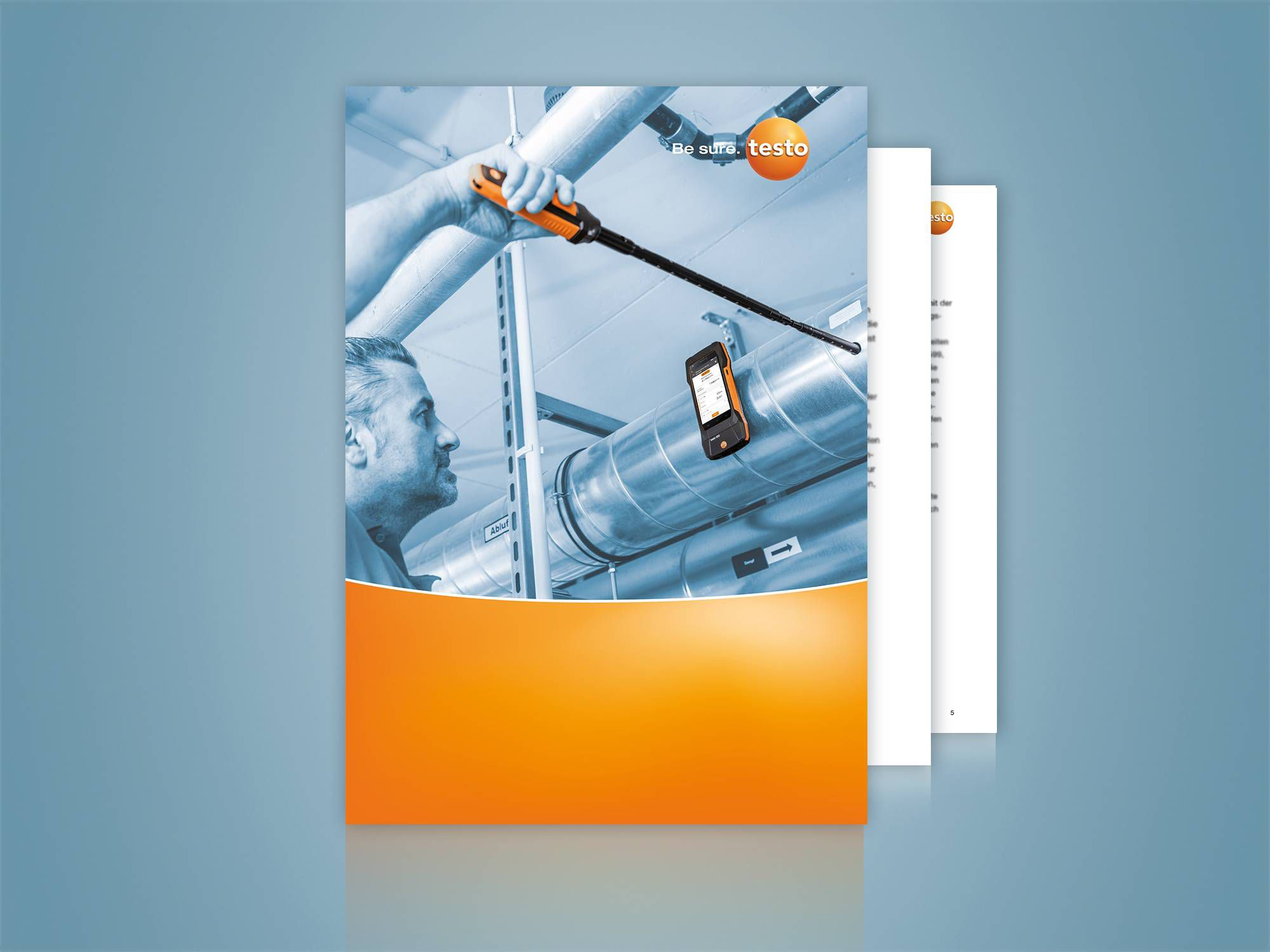 Download: Practical guide: Air flow measurements in ducts according to DIN EN 12599