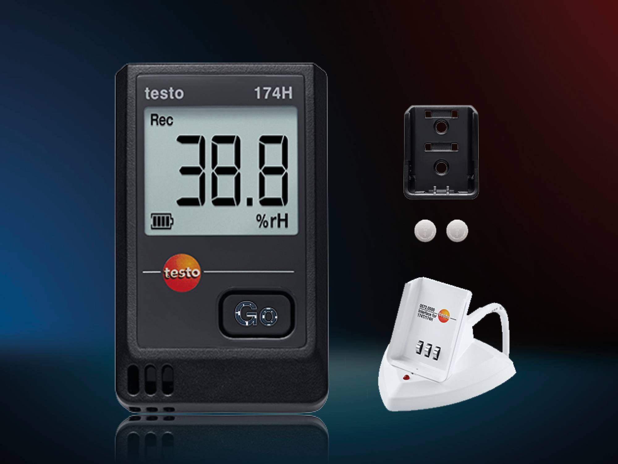 testo 174 H mini data logger kit