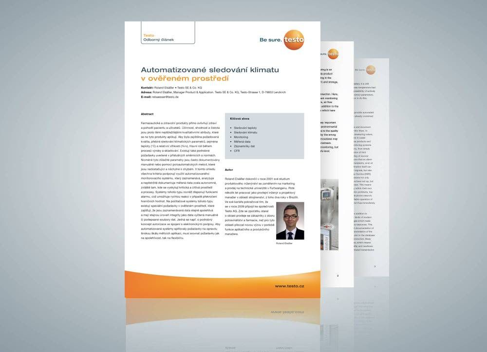 """Expert report on """"Automated climate monitoring in a validated environment"""""""