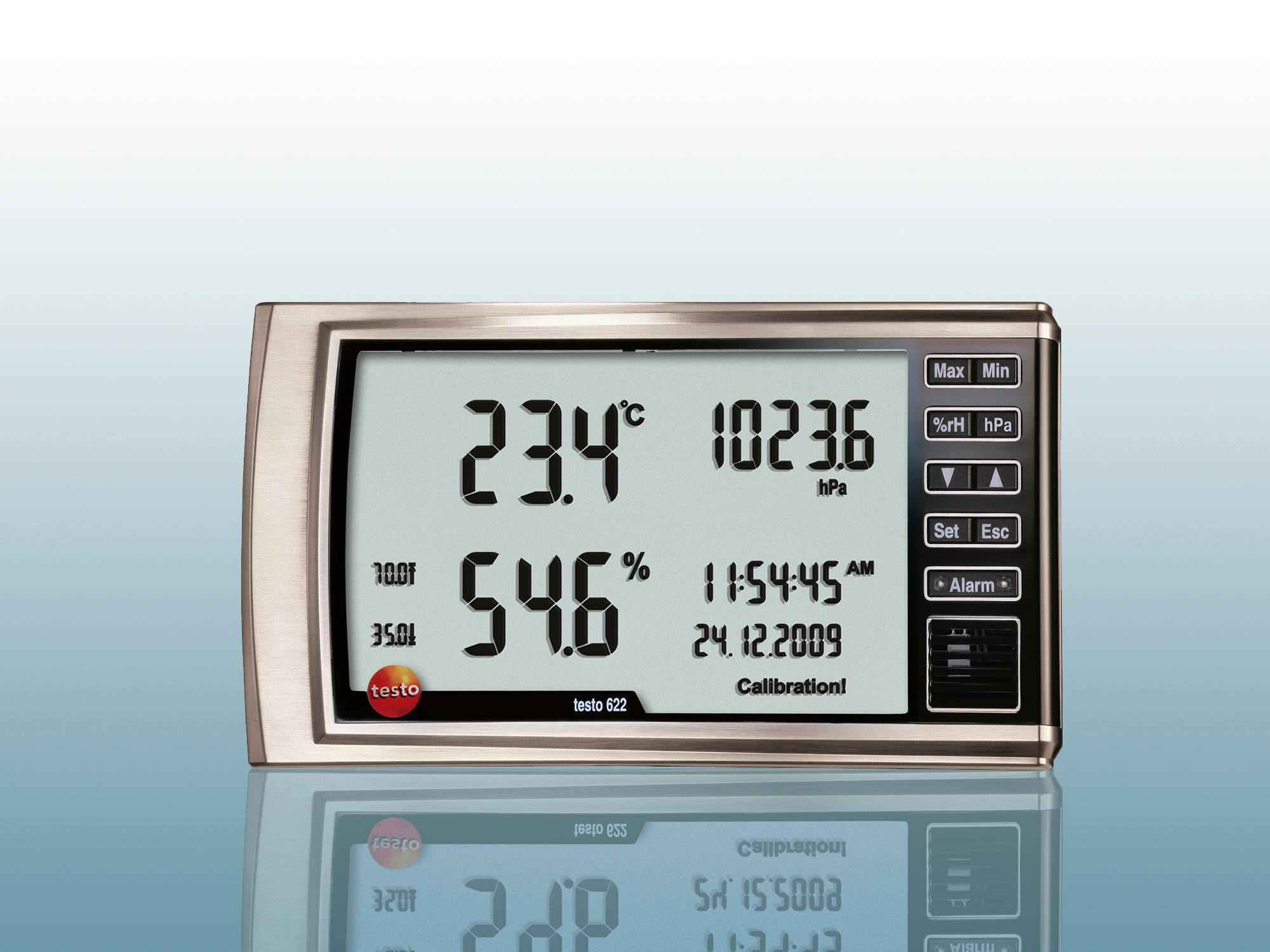 Thermo hygrometer and barometer