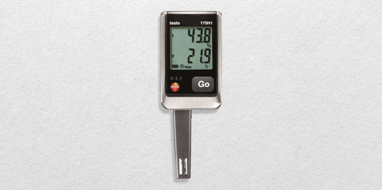 Monitoring of temperature, humidity and pressure in