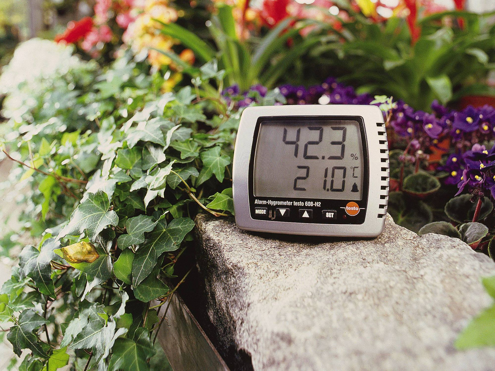 卓上式温室時計 testo 608