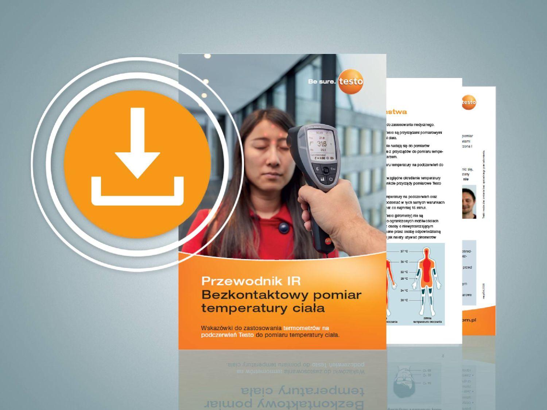 Przewodnik IR – bezkontaktowe pomiary temperatury powierzchni ciała