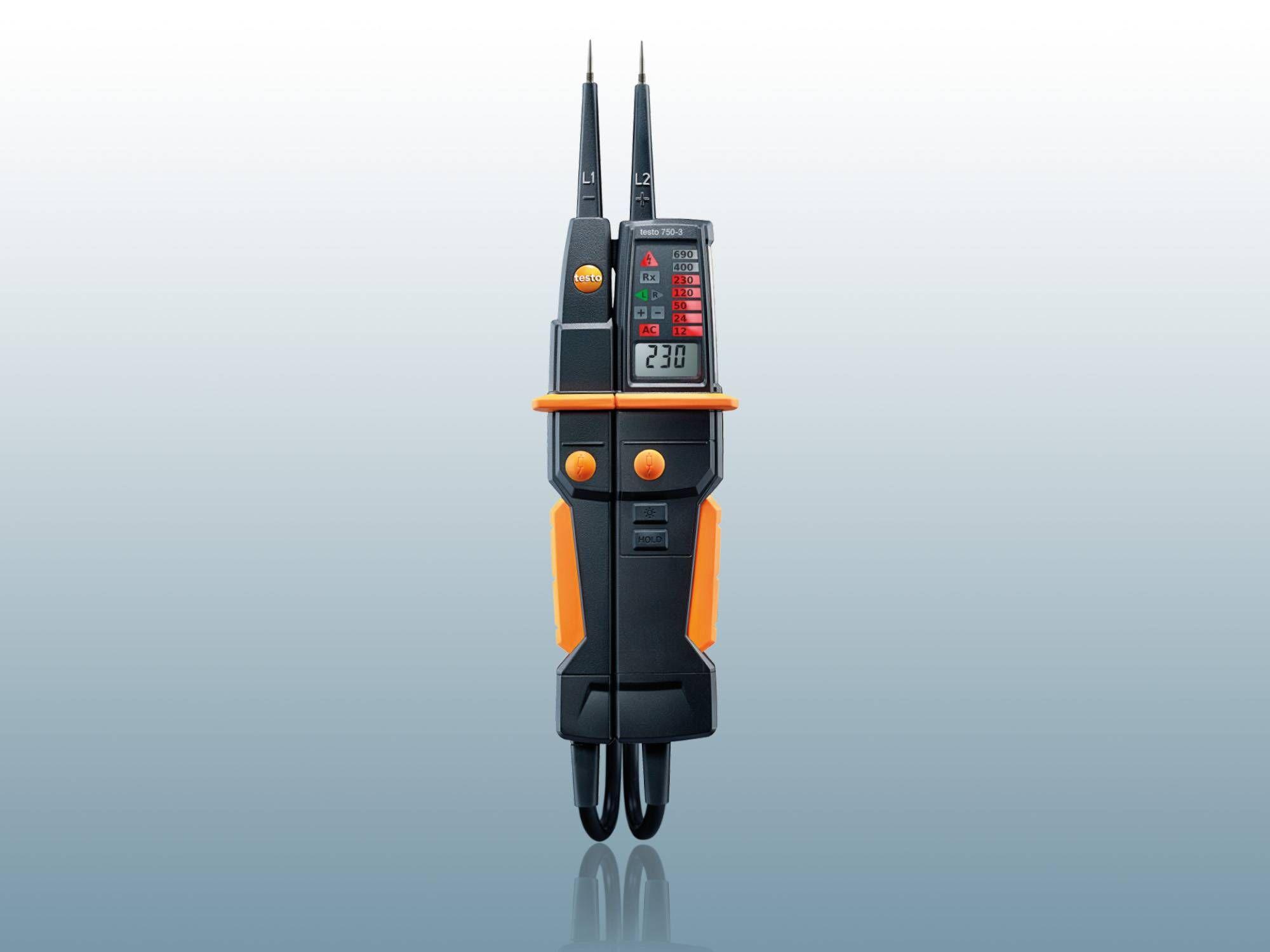 testo 750-3 – Détecteur de tension