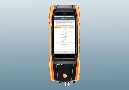 Flue gas analyzer testo 330-1/-2