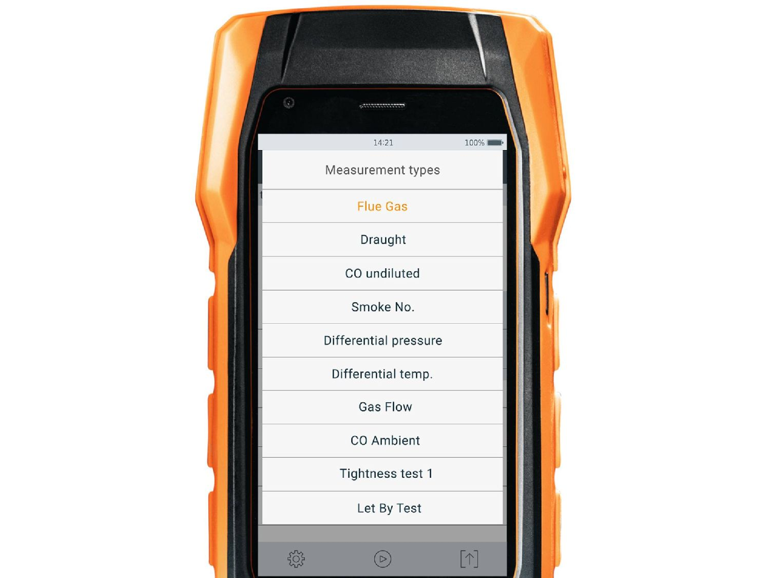 testo 300 measurement types