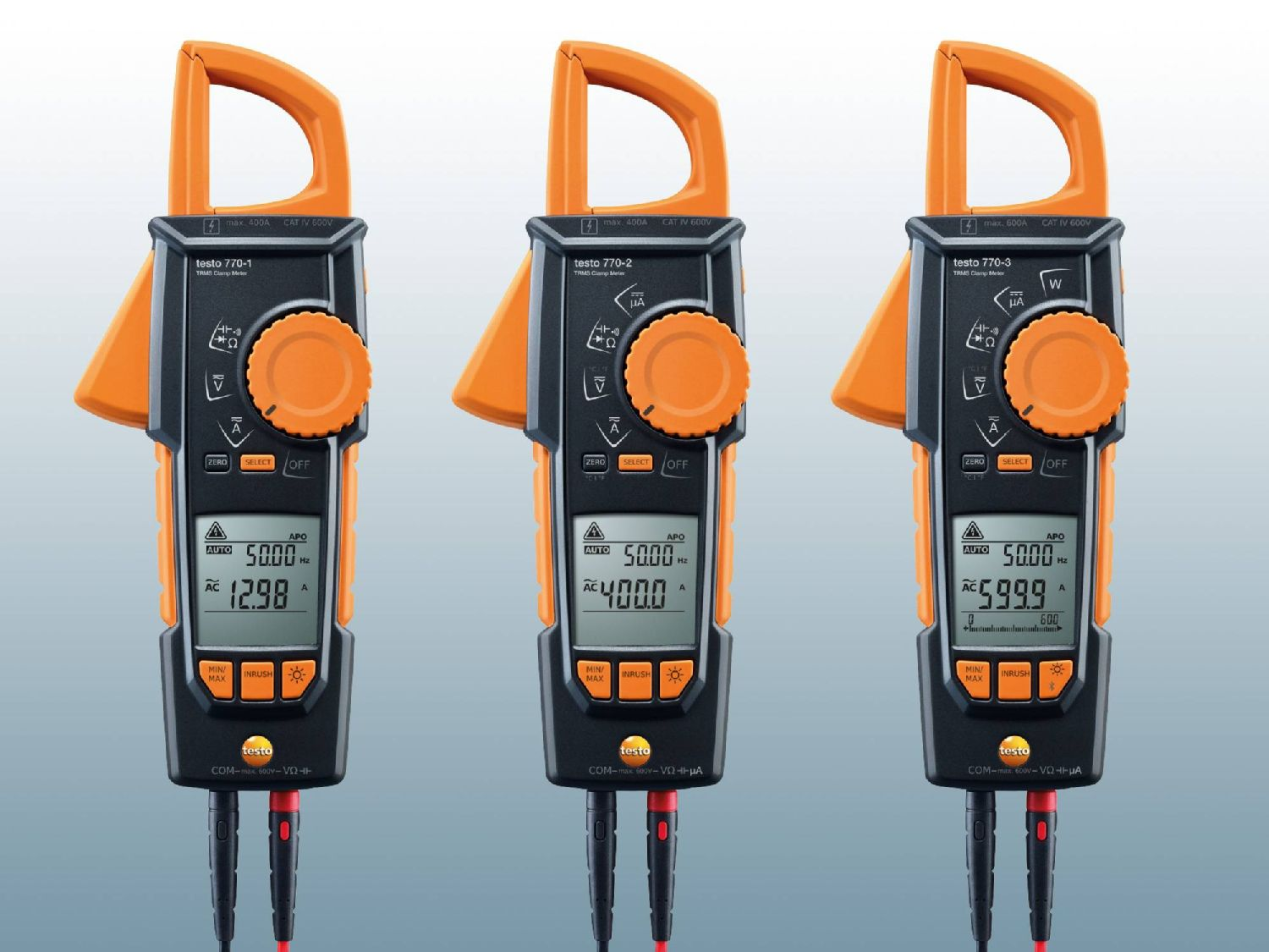 High-precision clamp meters testo 770