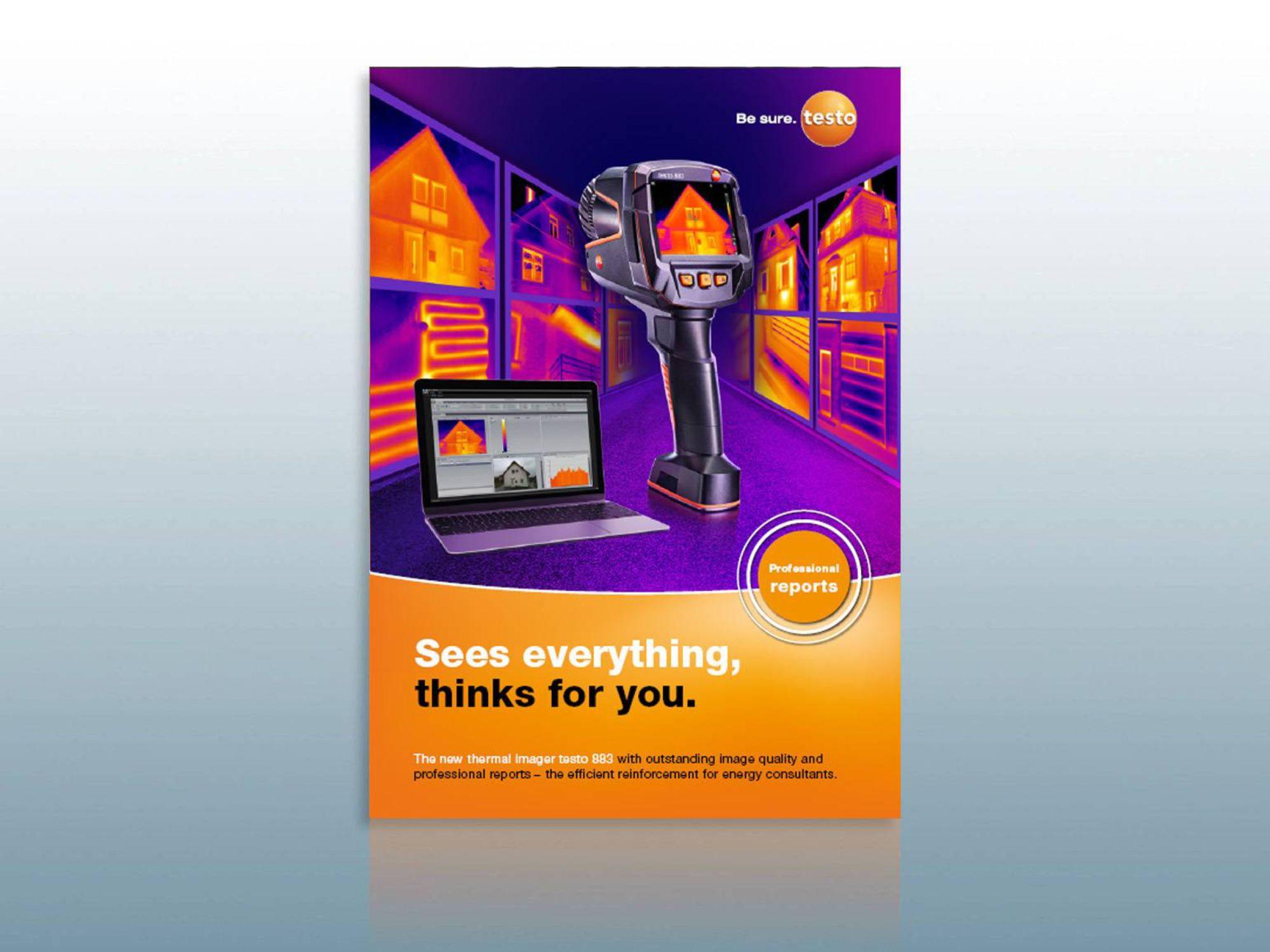 Testo 883 Brochure