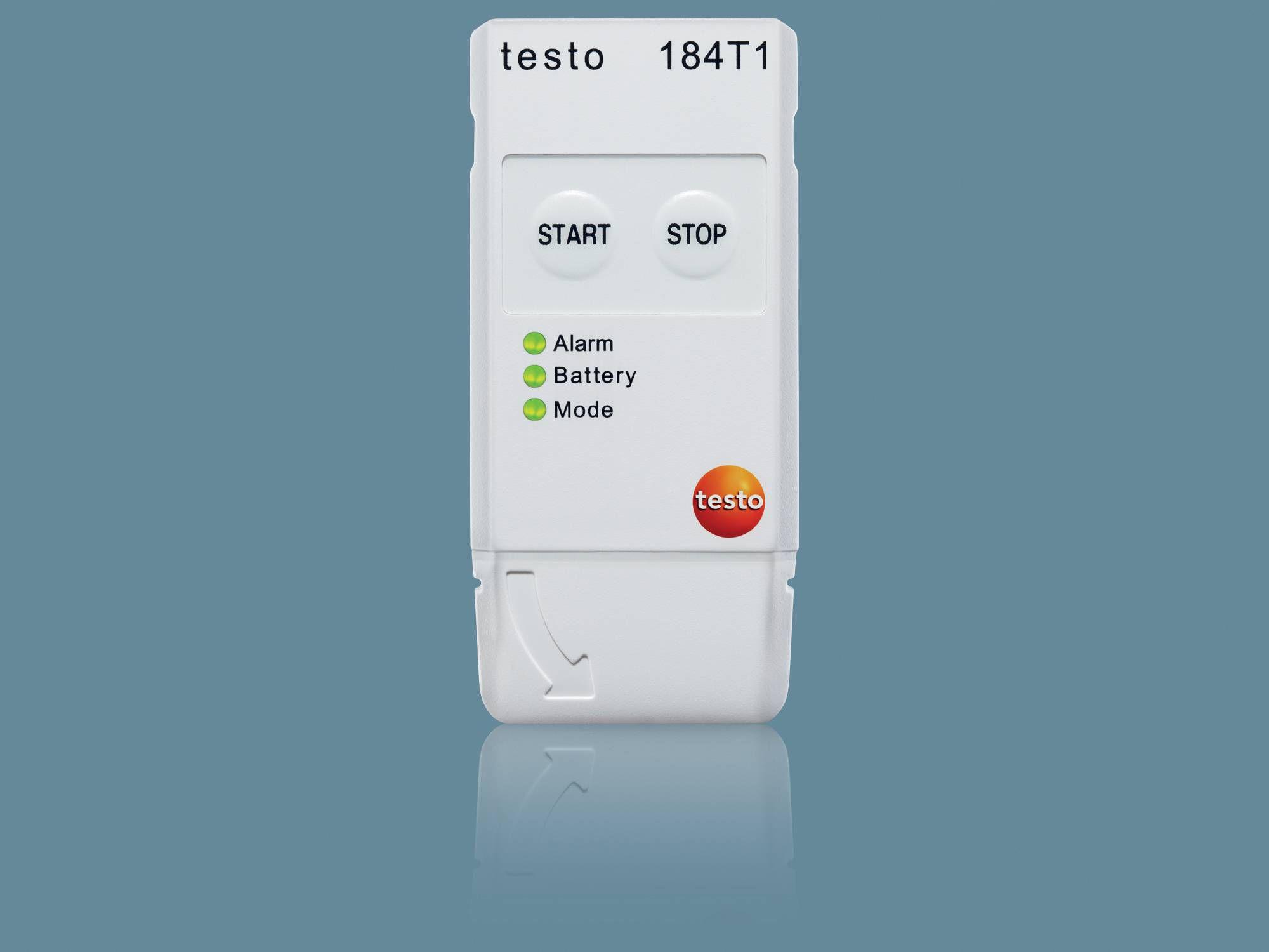 Логгер данных температуры для транспортировки пищевых продуктов testo 184 T1