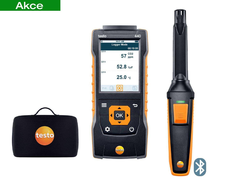 testo440 CO2 Kit with Bluetooth®