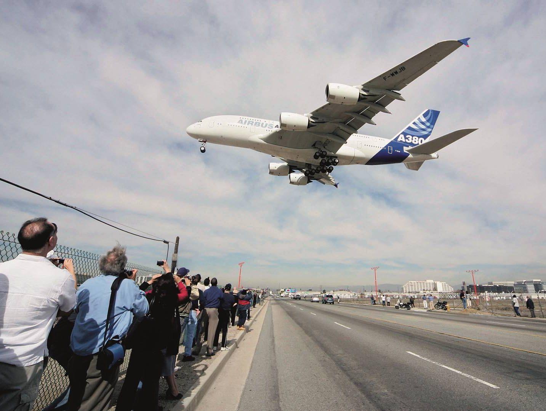 testo und Airbus 380