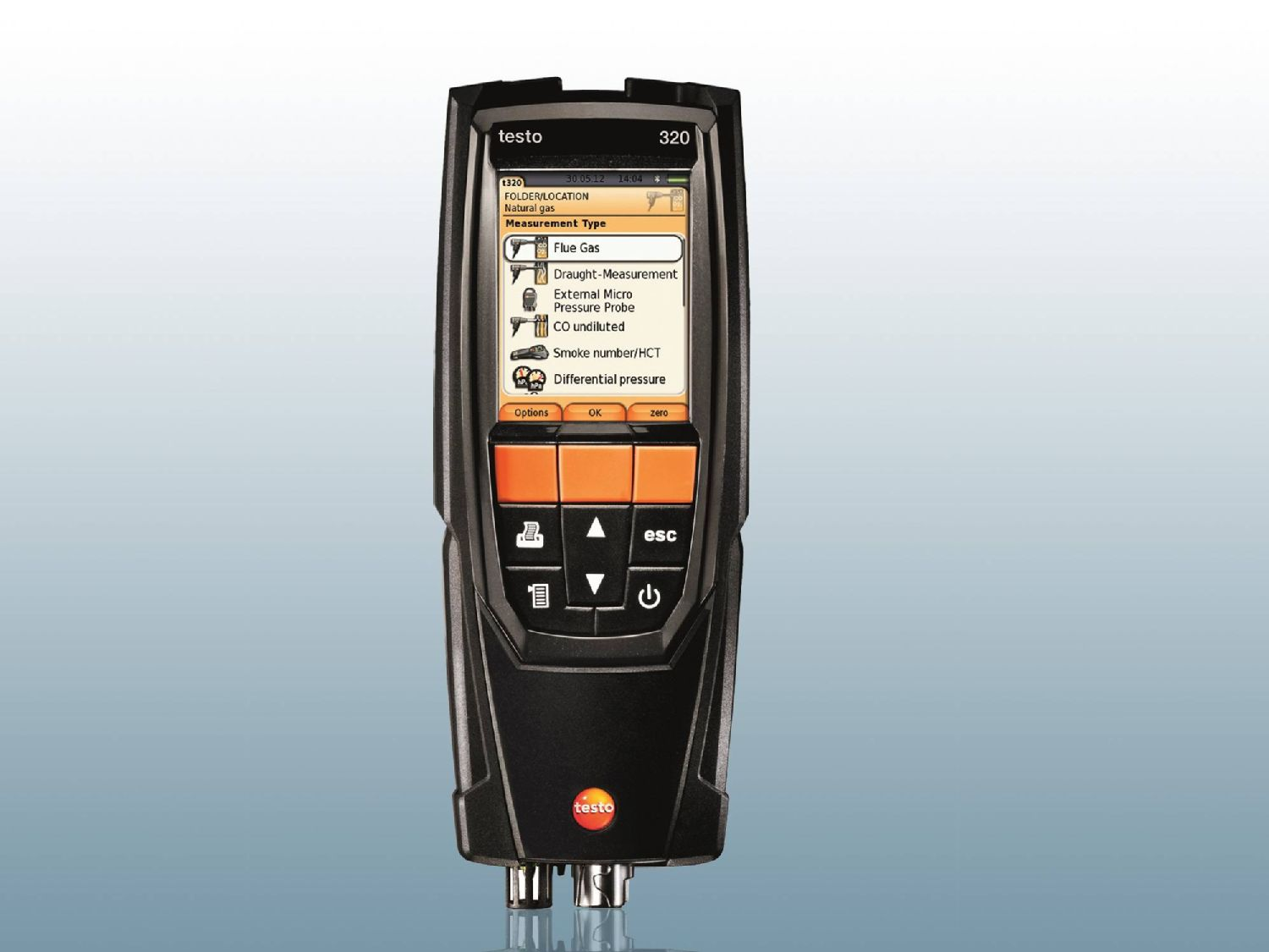 Flue gas analyzer testo 320