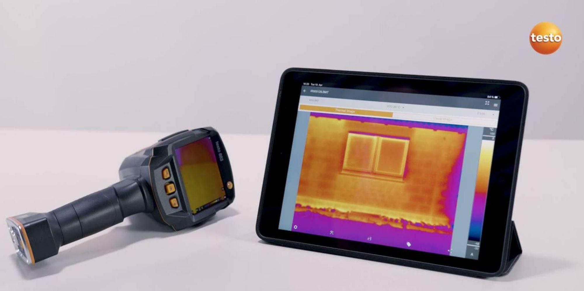 testo Thermography App