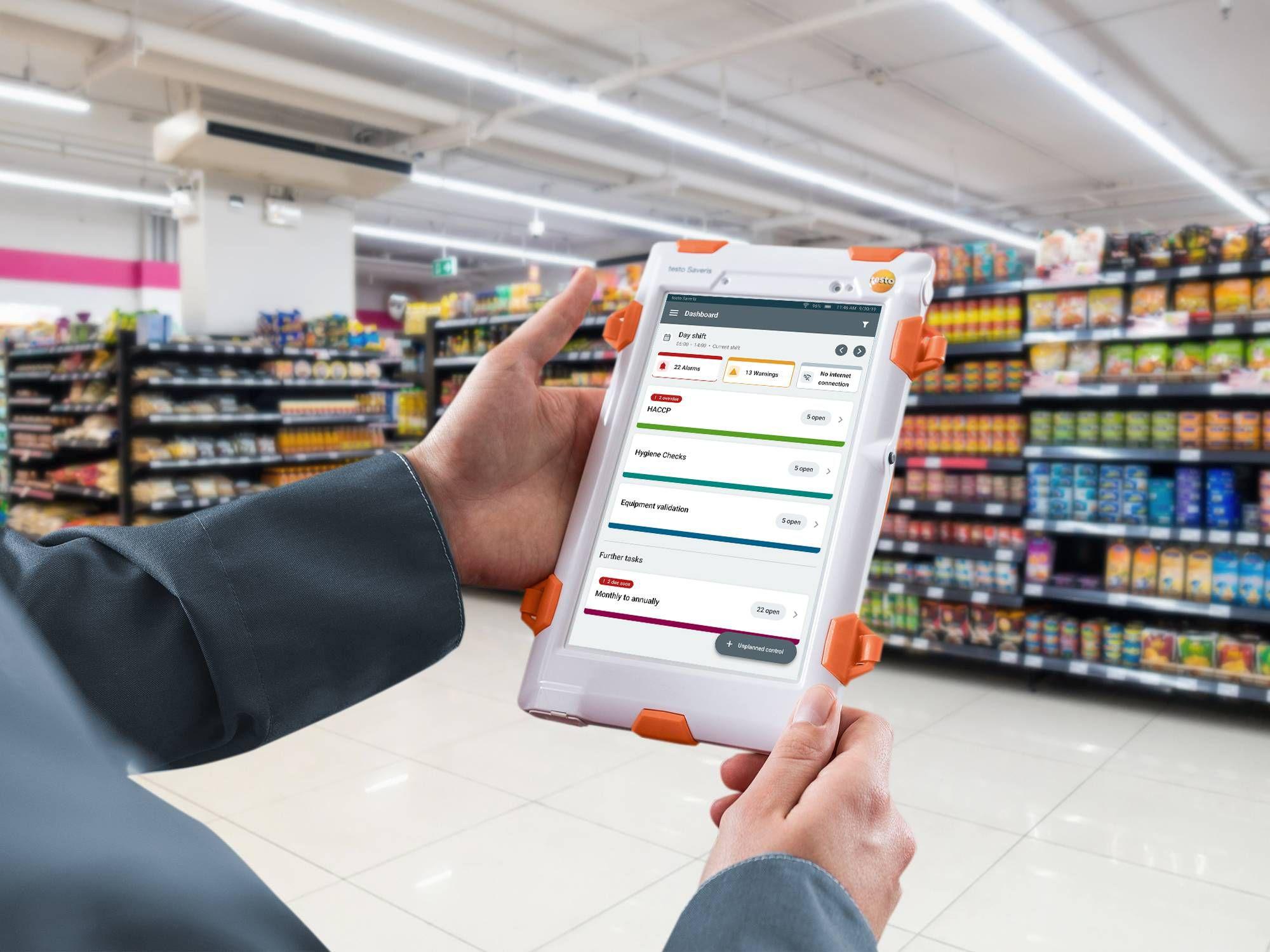 Prozesse optimieren Supermarkt