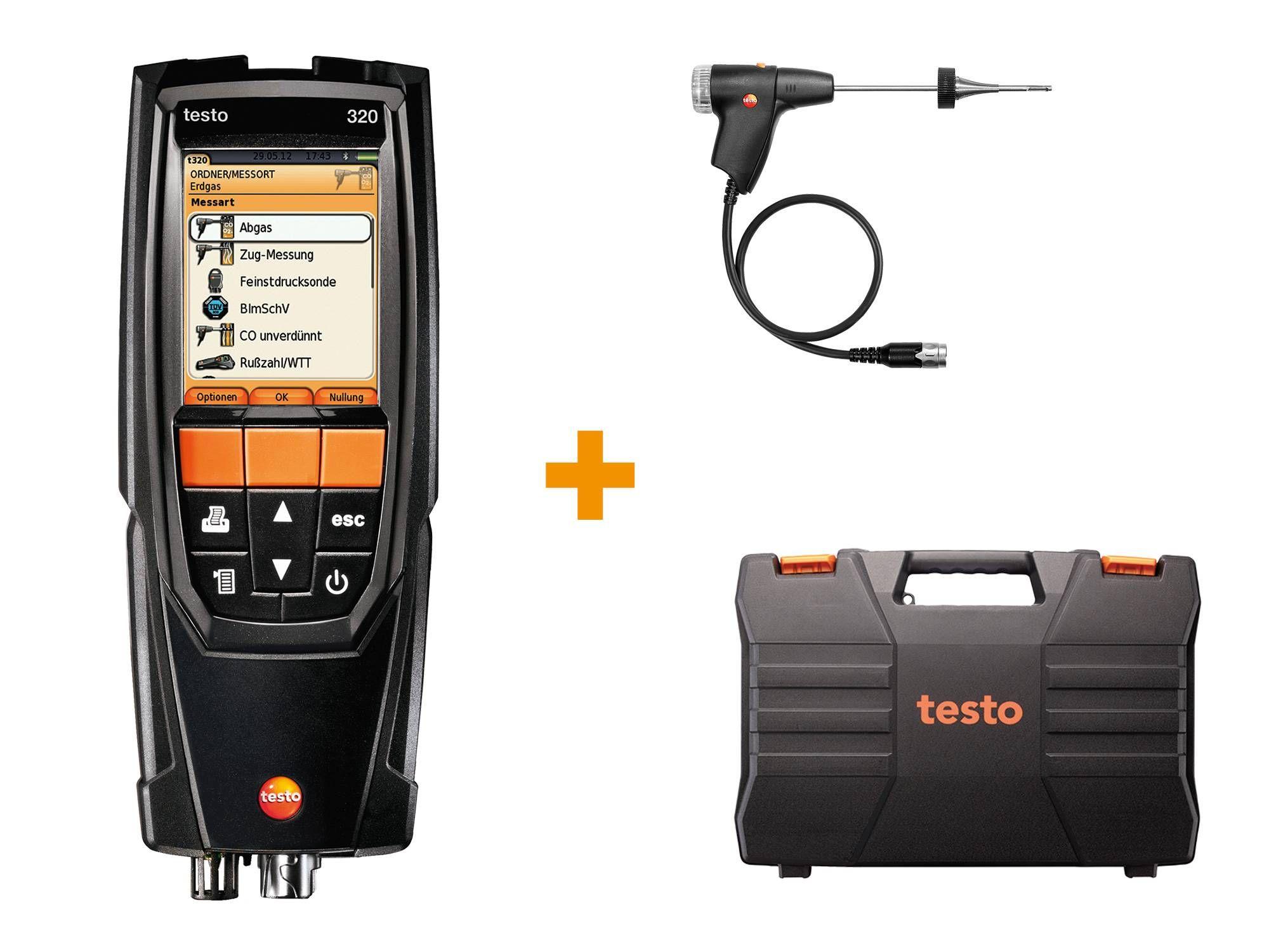 Kit testo 320 basic