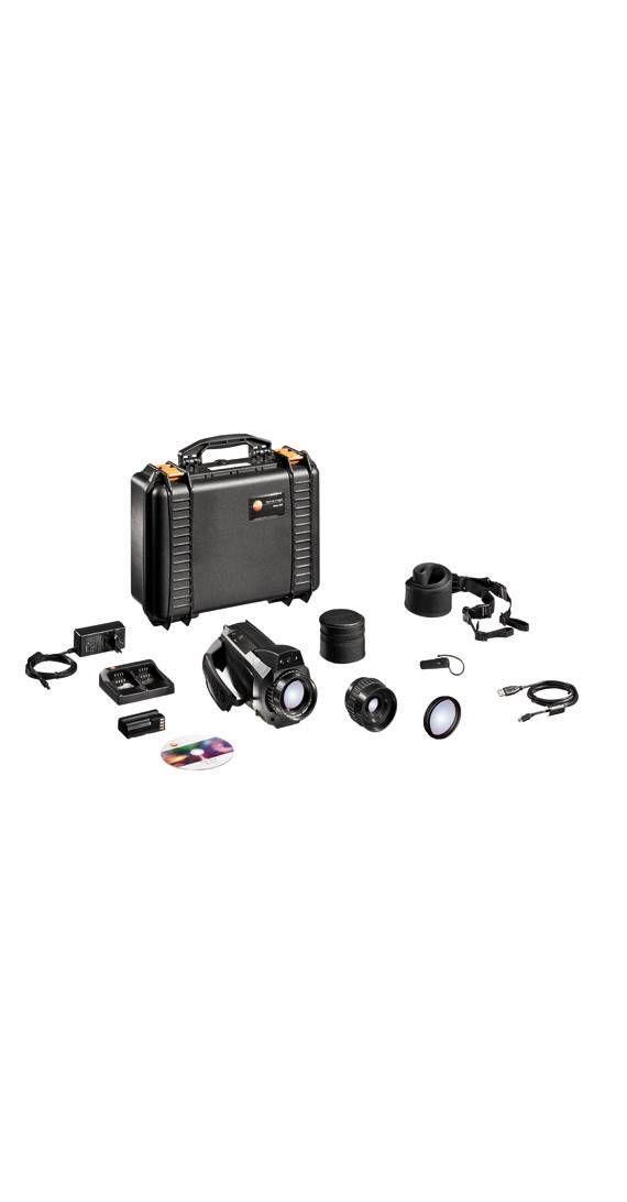 Caméra thermique High-End avec appareil photo numérique