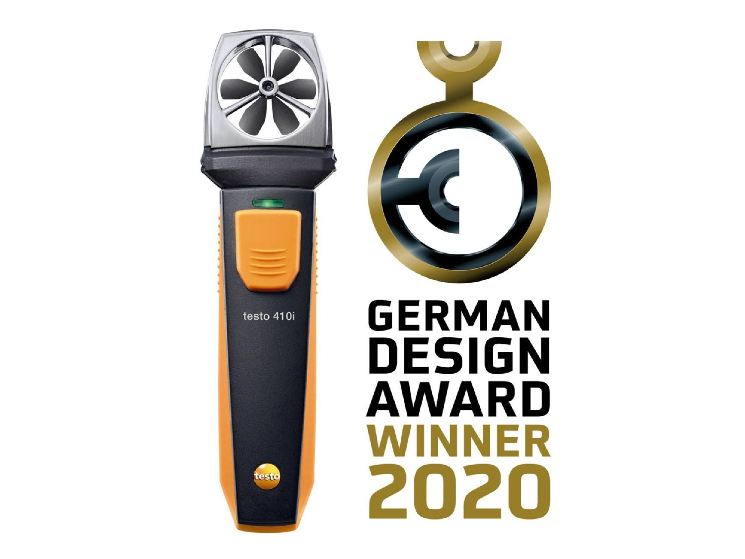 testo 410i German Design Award