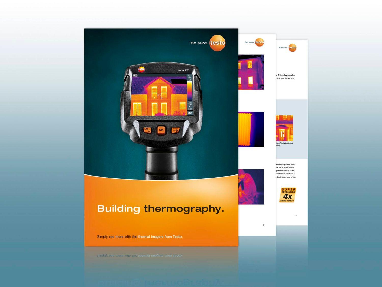 Přehledový prospekt stavební termografie