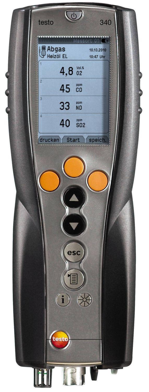 testo 340 emissie analyzer