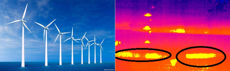 Termografía testo en parques eólicos
