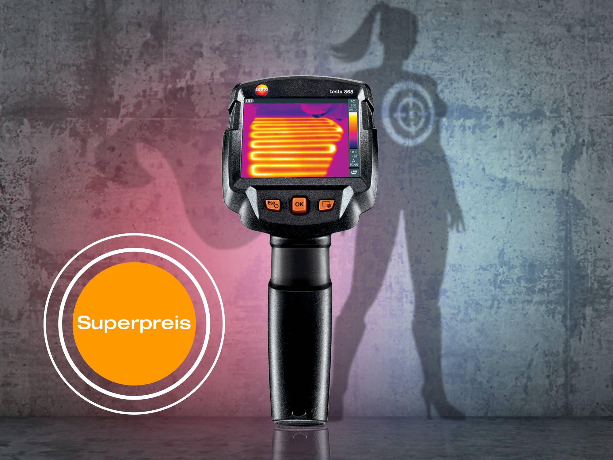 Wärmebildkamera testo 868
