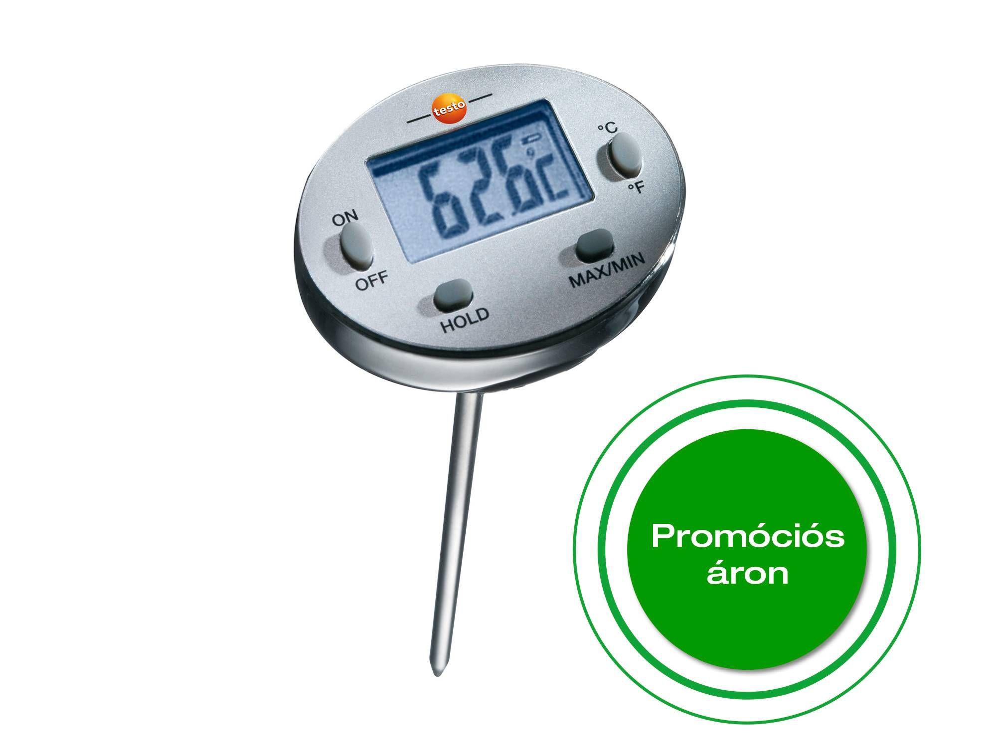Waterproof mini probe thermometer