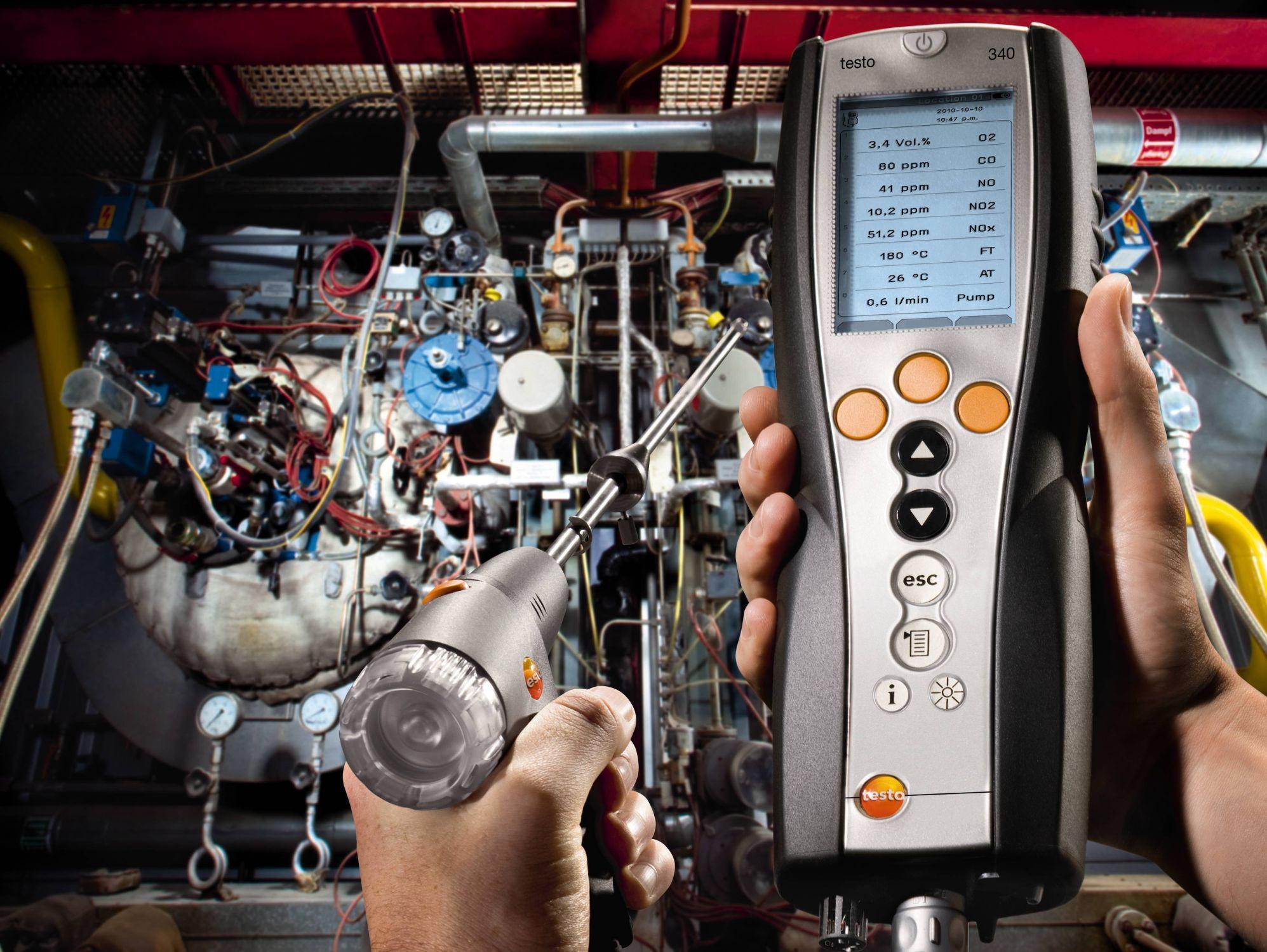 testo 340 diesel engine kit