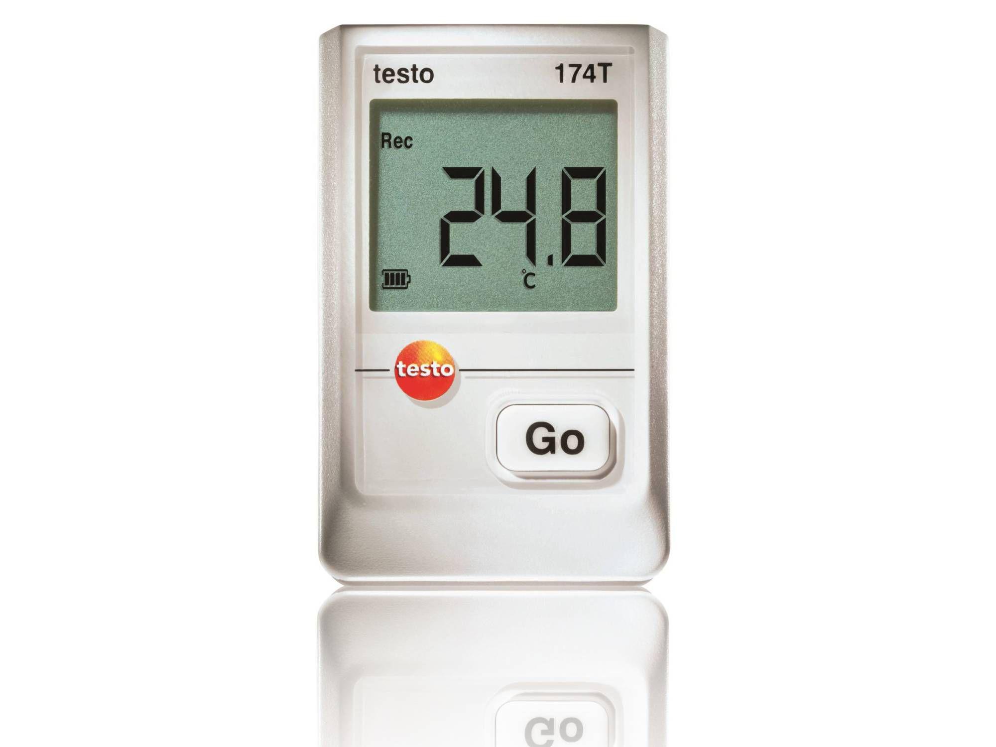 Temperature data logger for food transport testo 184 T3