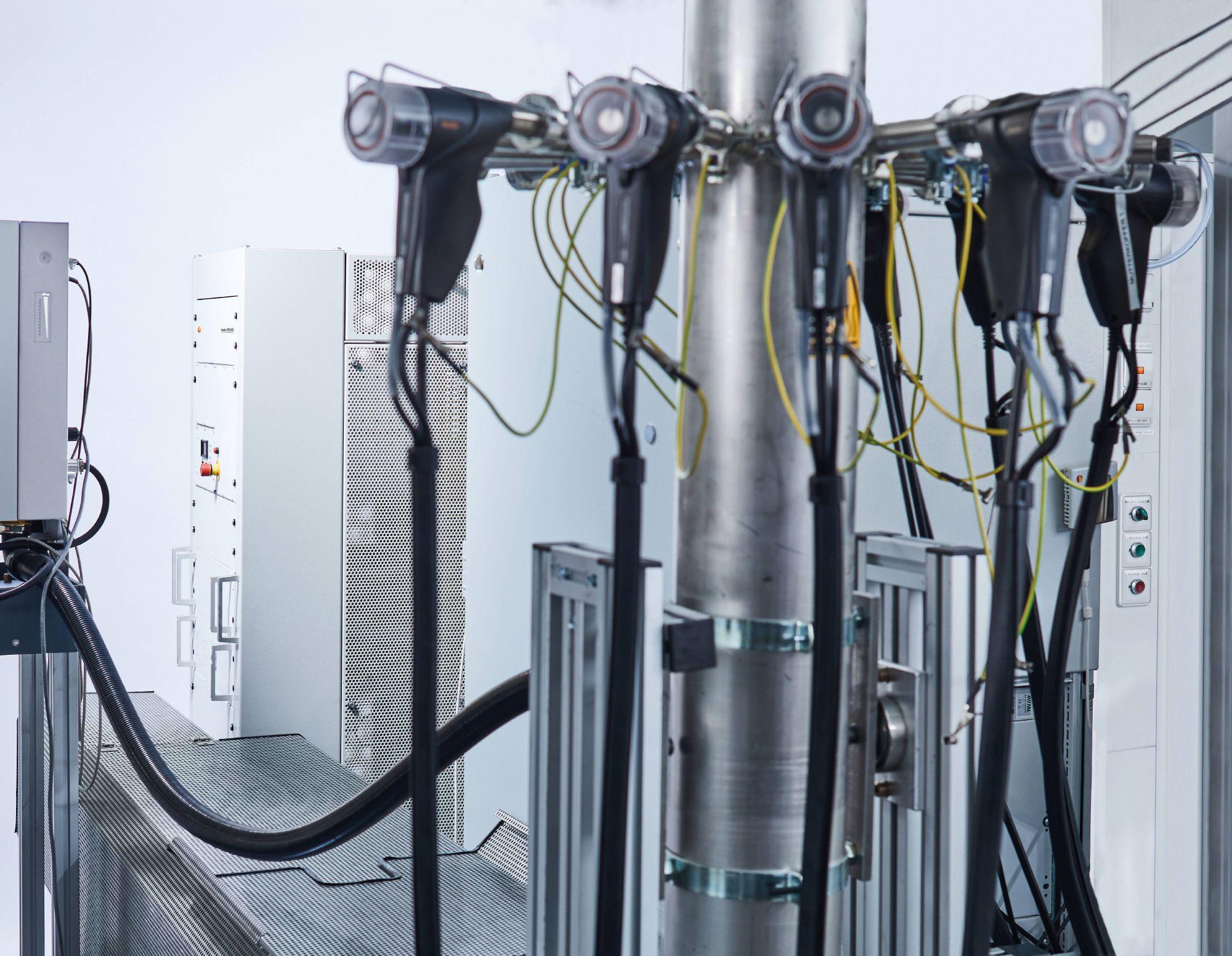 testo REXS soot generator