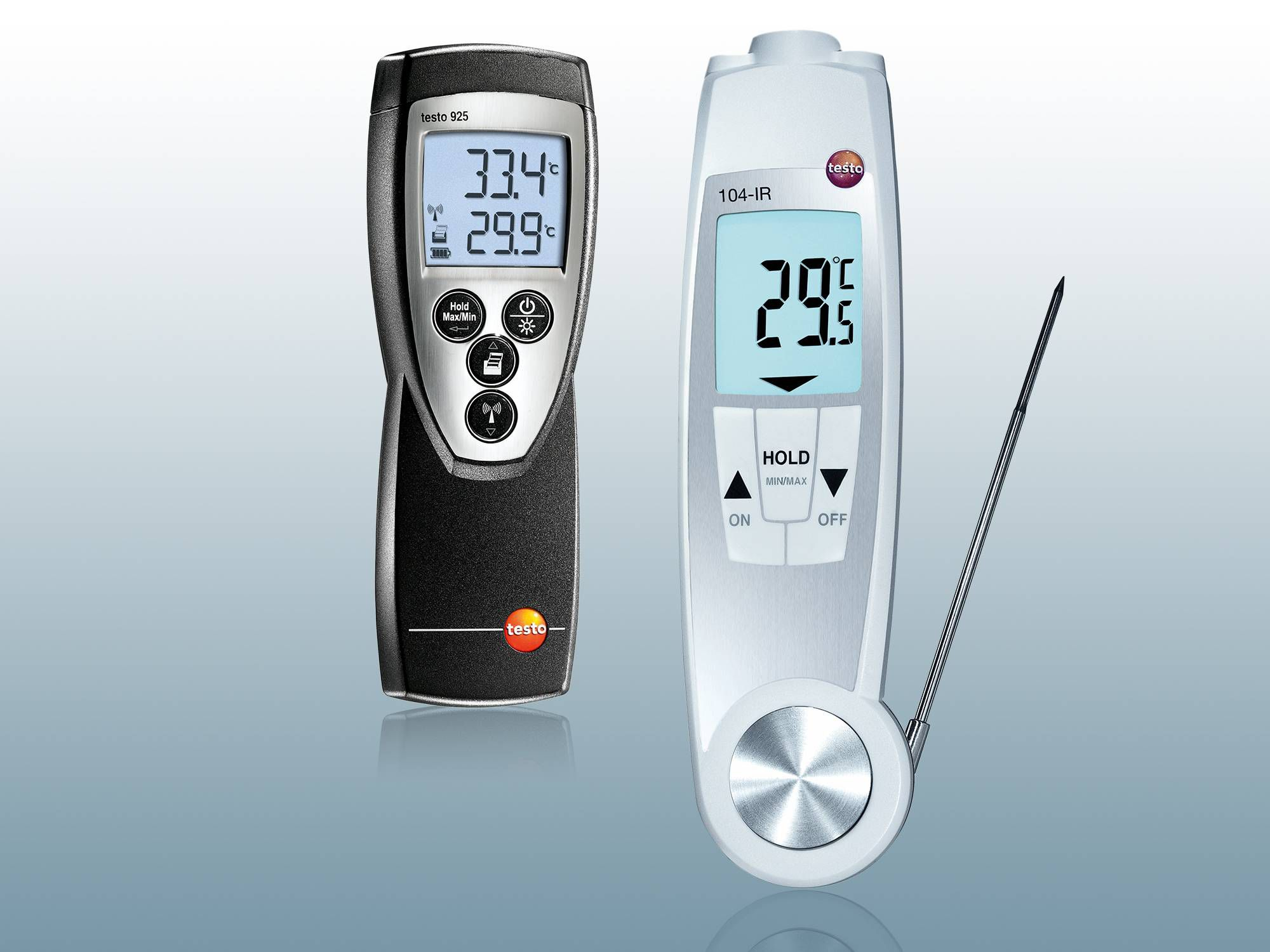 Testo measuring instruments