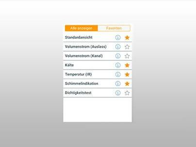 Smartphone App Temperaturkontrolle