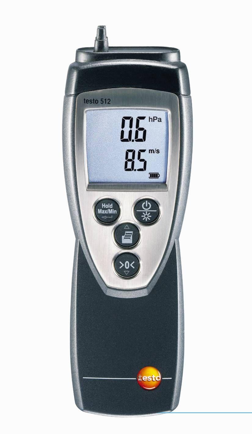 Manómetro de presión diferencial testo 512