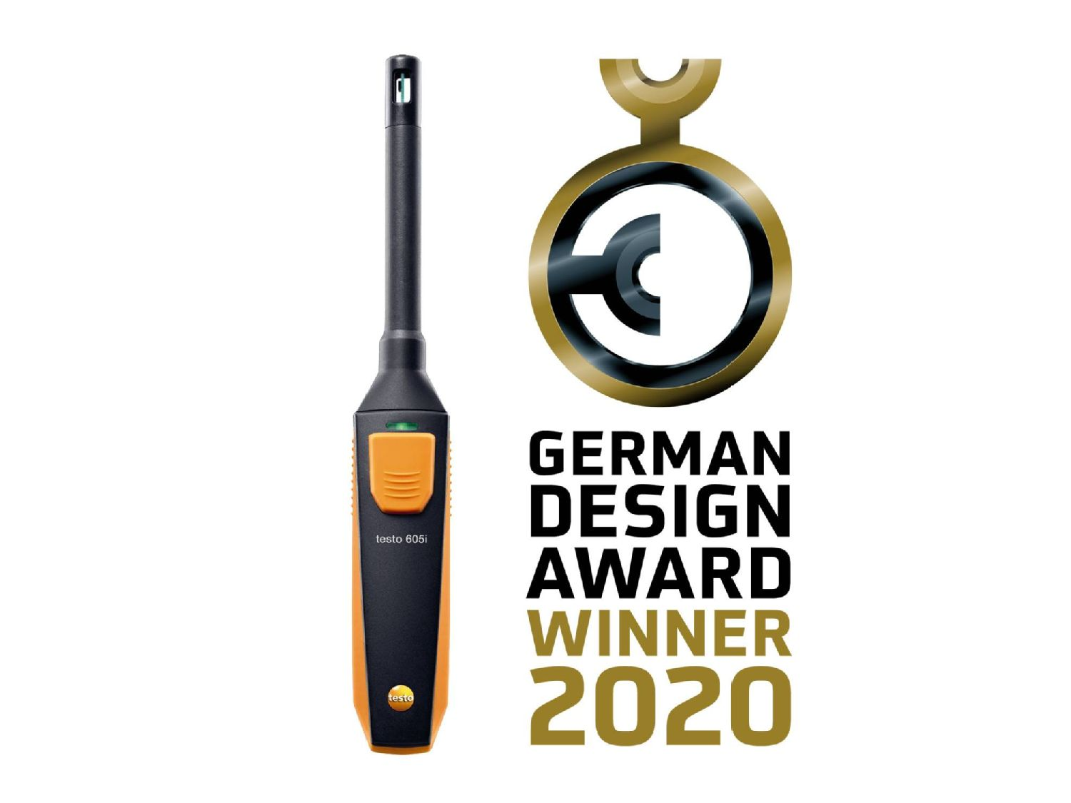testo 605i German Design Award