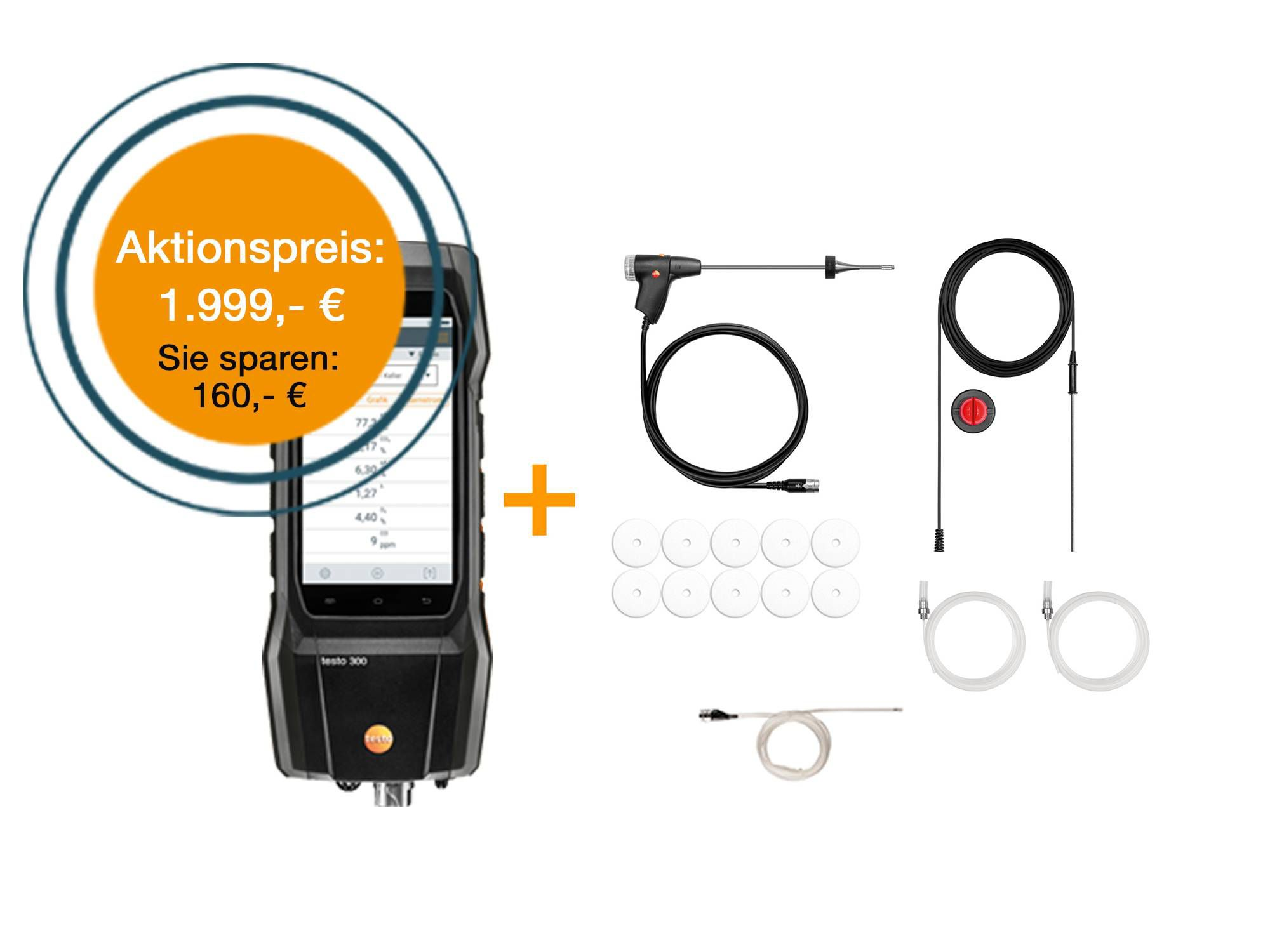 testo 300 SE Longlife Set NO zum Aktionspreis
