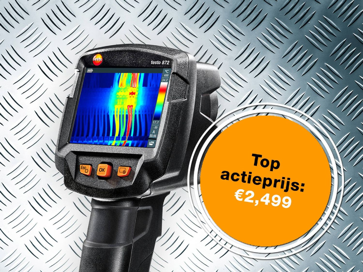 Promo offer themal imager testo 872