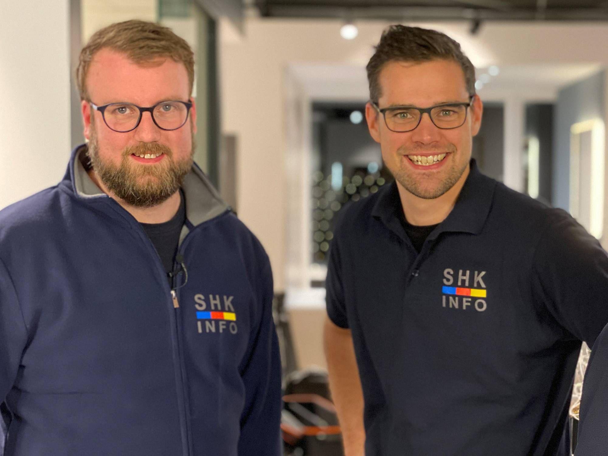 Marco Rzeski und Marcel von Zons von SHK info