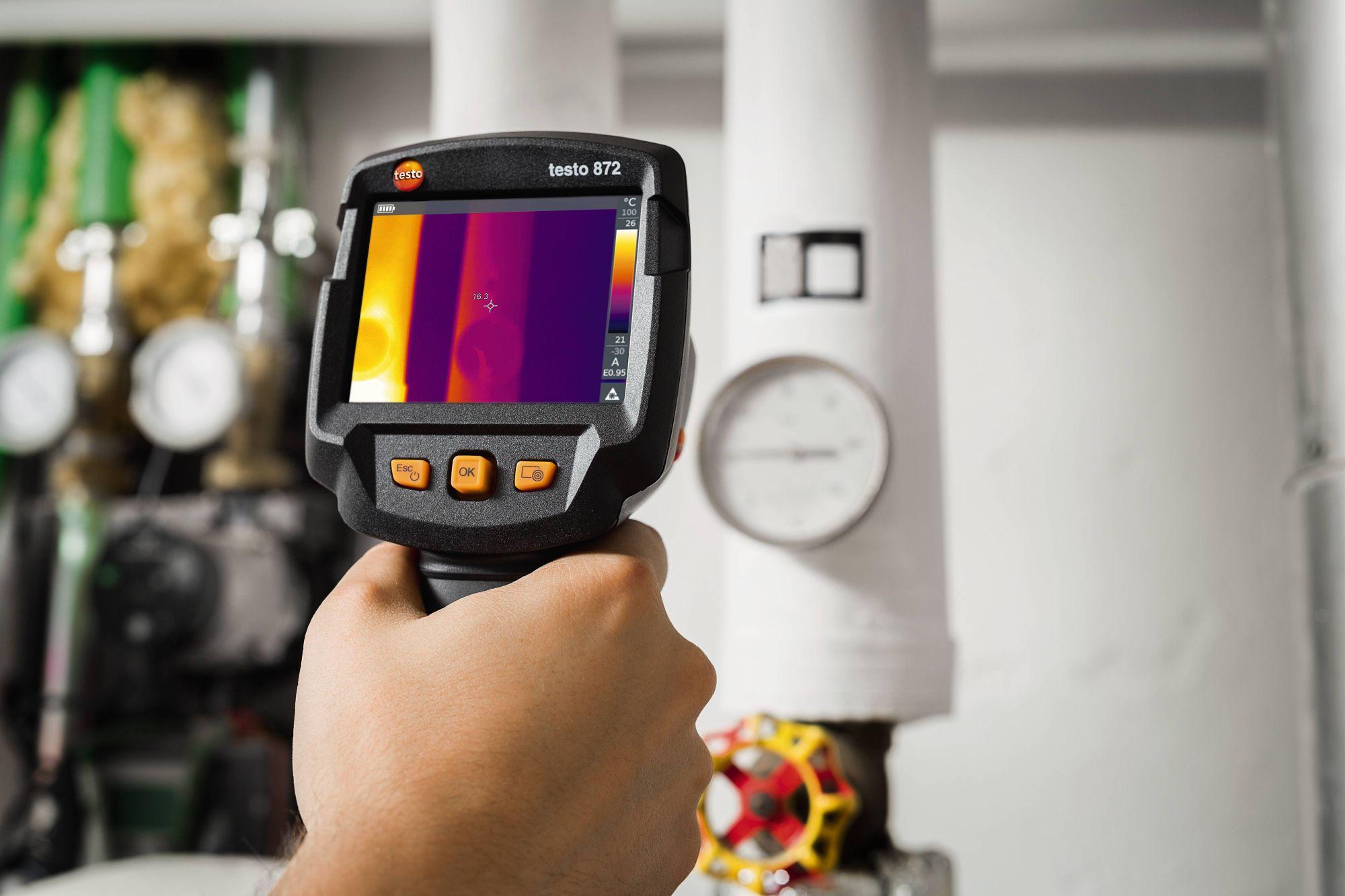 Precyzyjna termografia obiektu