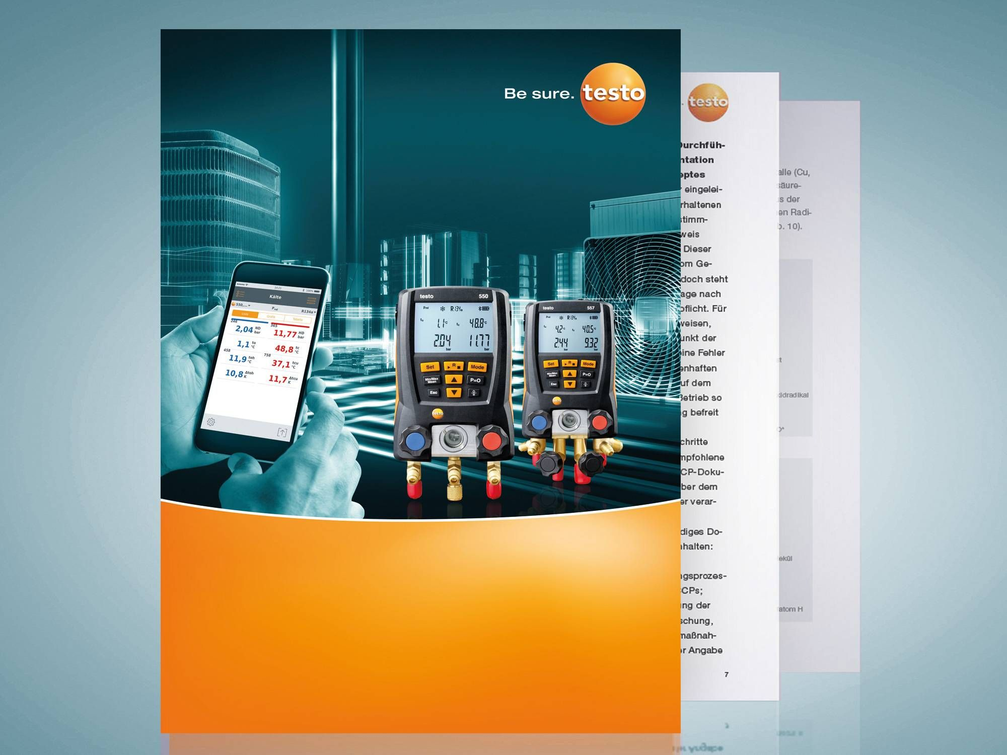 Refrigeration Knowledge from Testo