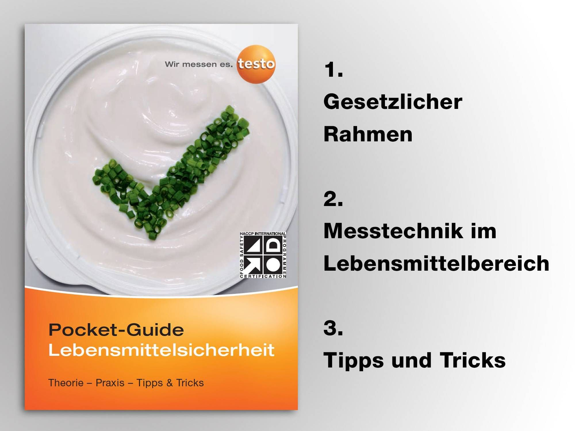 Pocket Guide Lebensmittelsicherheit