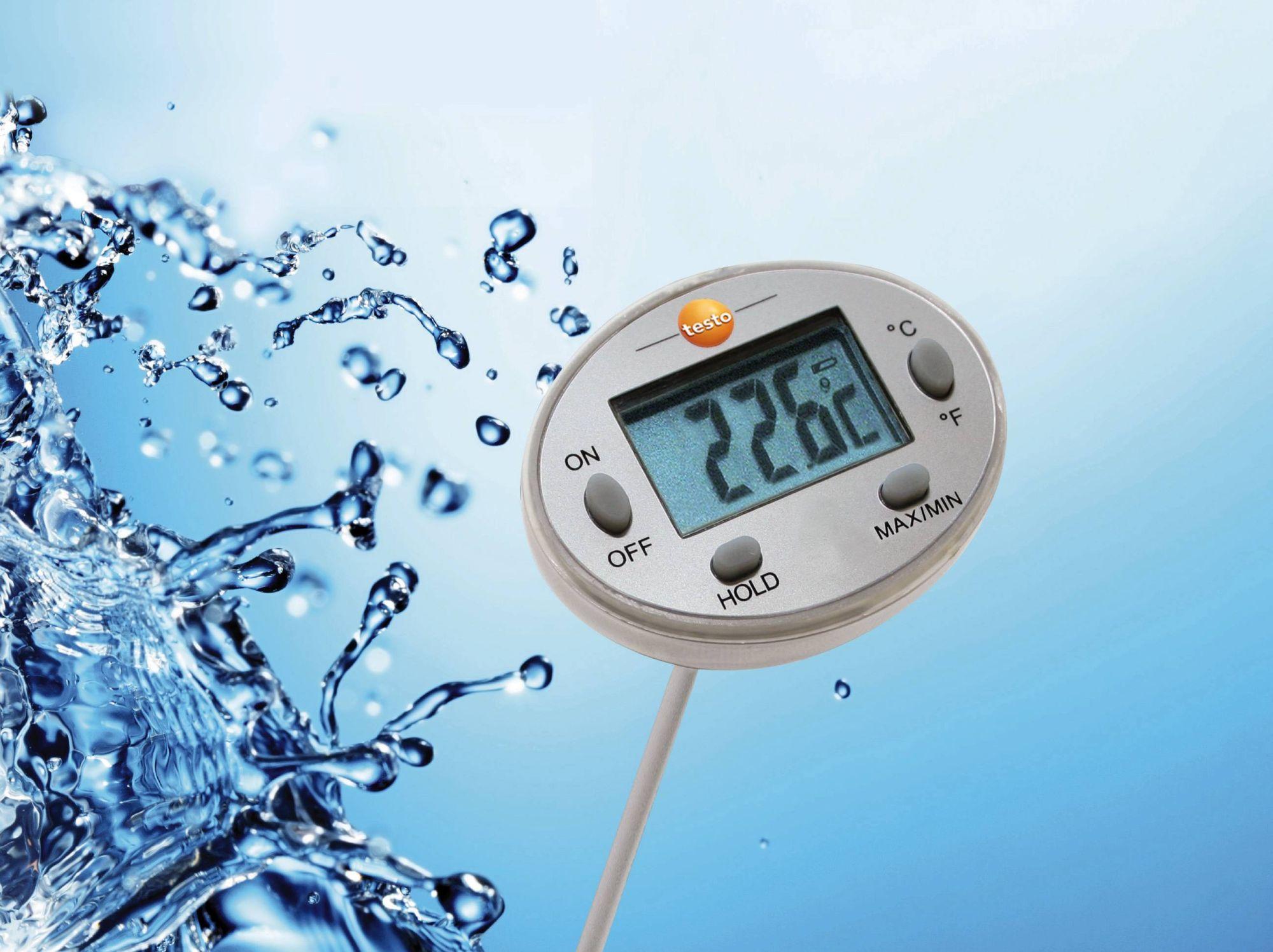testo vízálló mini hőmérsékletmérő