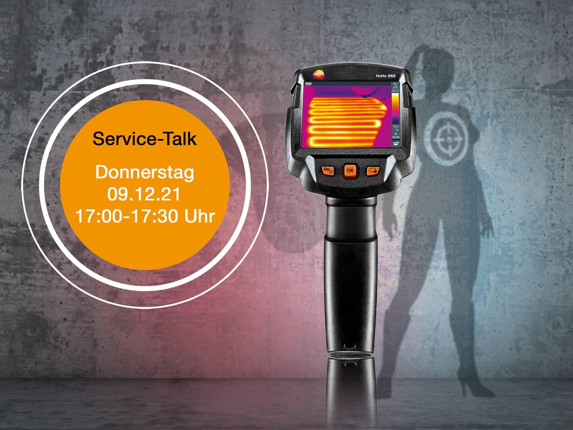 Servicetalk testo 868