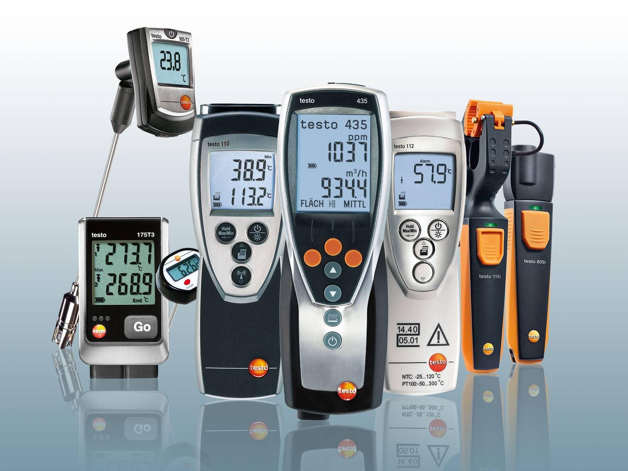 Thermometers oppervlakte van Testo