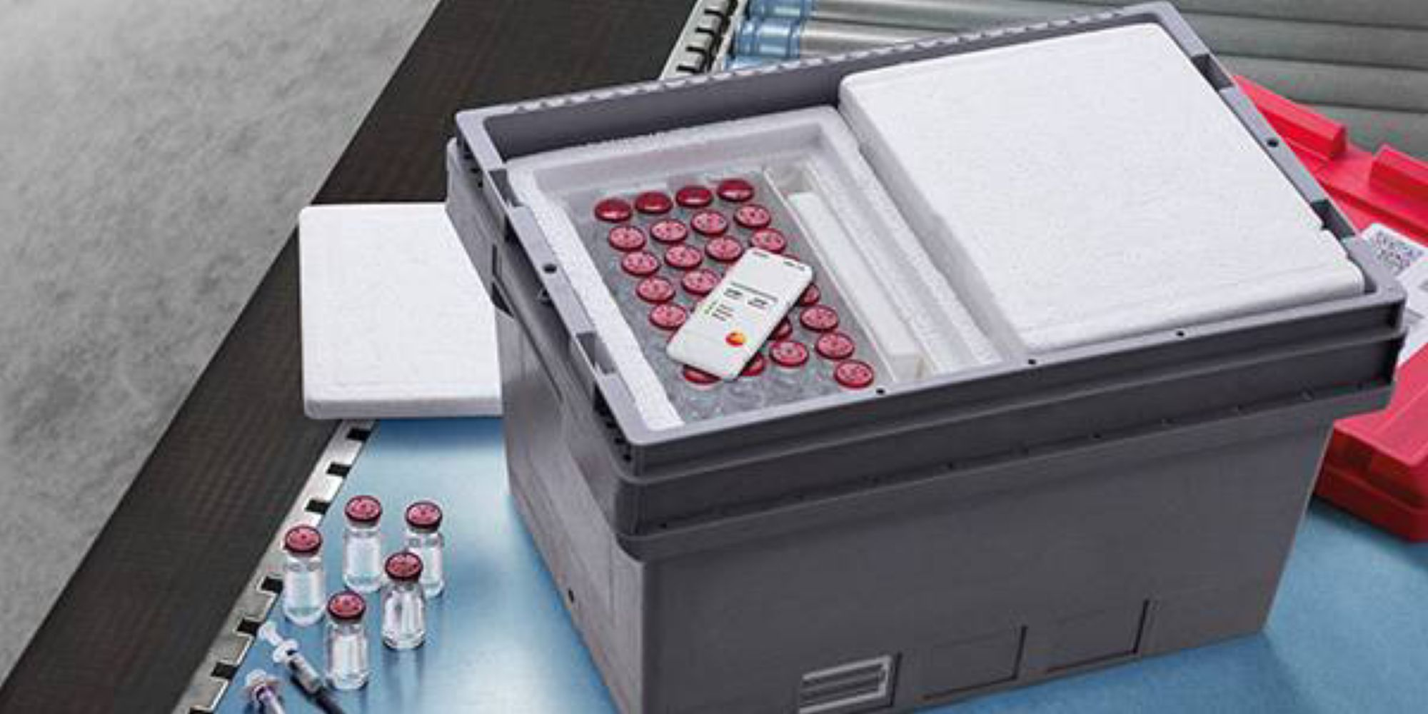 Optimale Lagerung von Impfstoffen