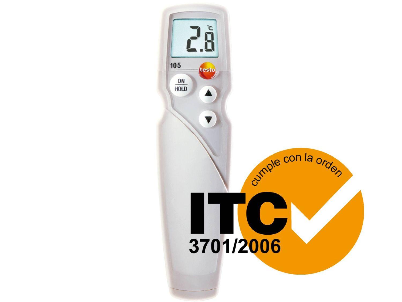 Termómetro para alimentos testo 105