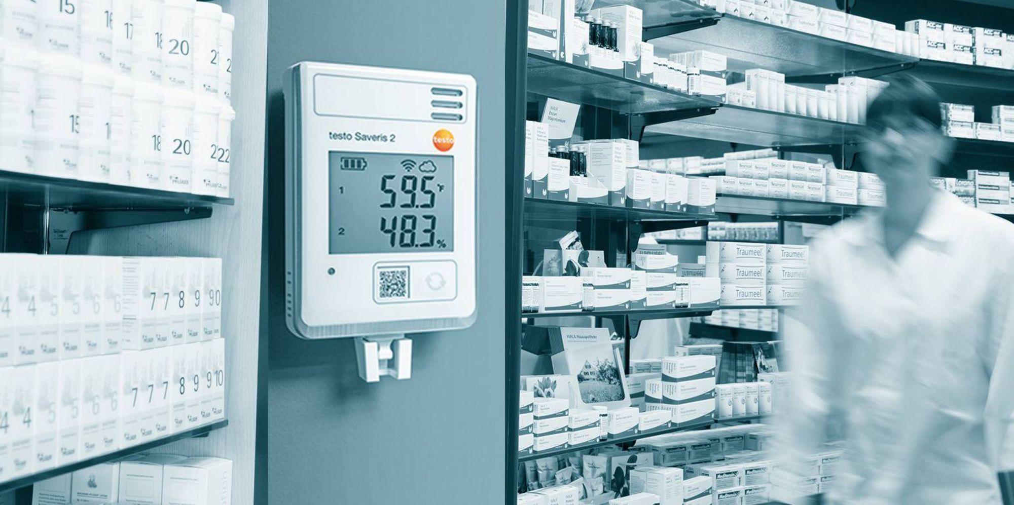 Richtlinien-konforme Temperaturüberwachung mit dem WLAN-Datenloggersystem testo Saveris 2
