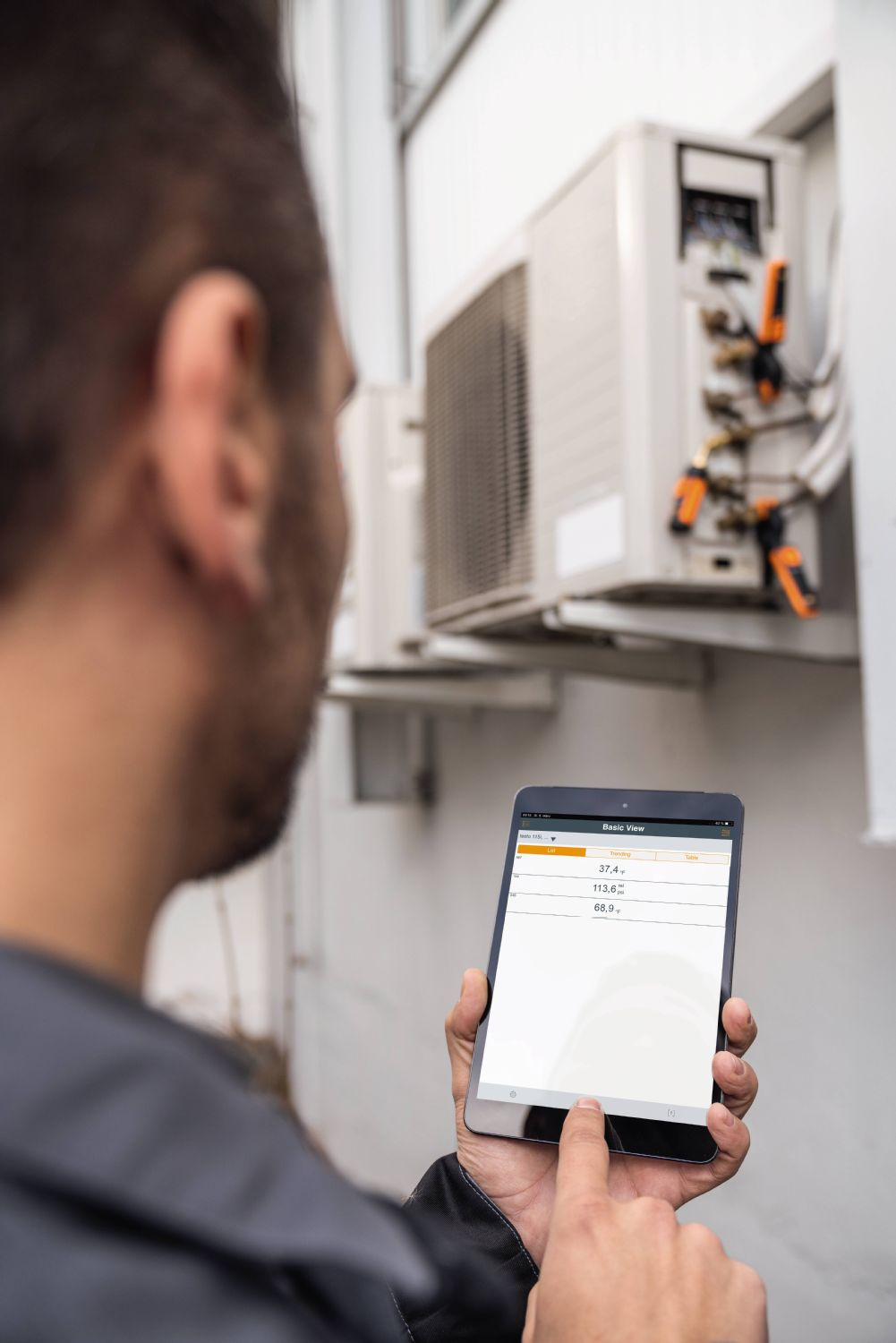 application testo Smart Probes AC & Refrigeration Test Kit