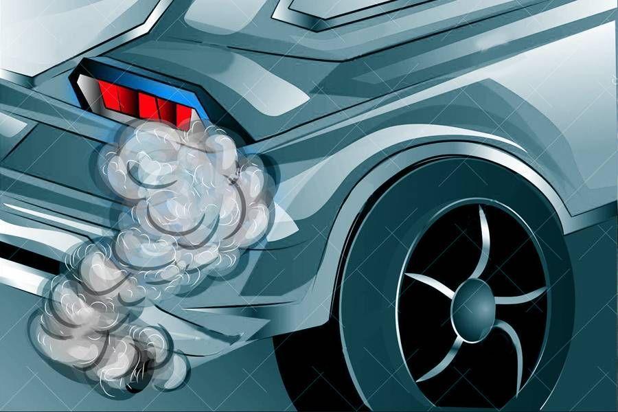 烟气分析仪可对机动车尾气的排放进行分析,获取污染气体的成分及浓度。
