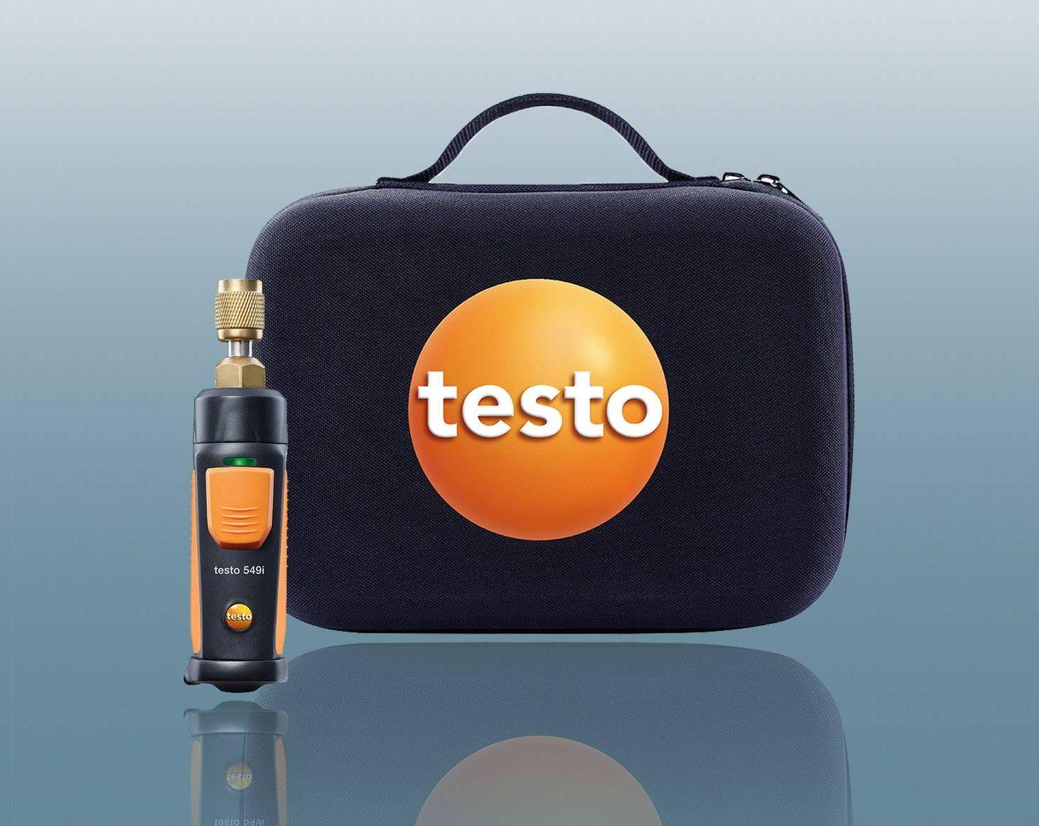 testo Smart Probes Anwendung Druckmessung
