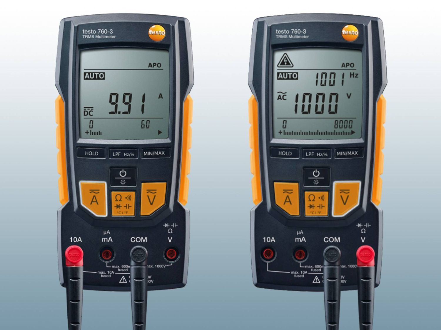 Precise measurements with the digital multimeter