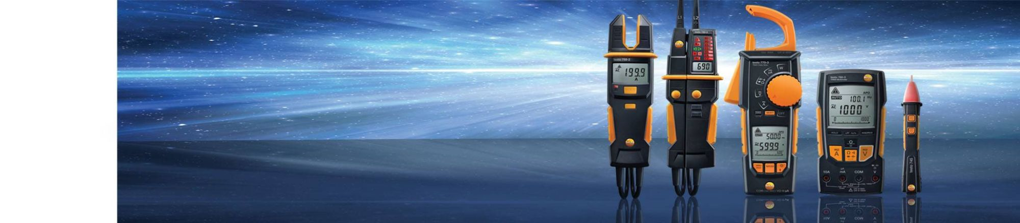 Tehnologia <br />măsurătorilor <br />electrice <br /><strong>reinventată.</strong>